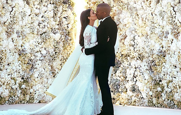 See Kim Kardashian and Kanye West's First Photos as a Married Couple!