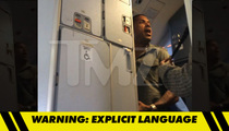 'Love & Hip Hop: Atlanta' Star Benzino Booted Off Airplane -- 'You're a Racist Motherf*****!!!' [VIDEO]