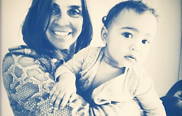 North West Poses With Former Vogue Paris Editor Carine Roitfeld!