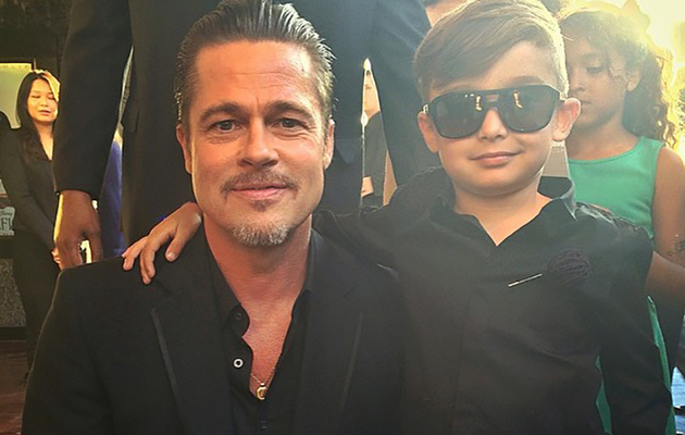 "Brad Pitt Fans Out Over Most Stylish Kid EVER at ""Maleficent"" Premiere"