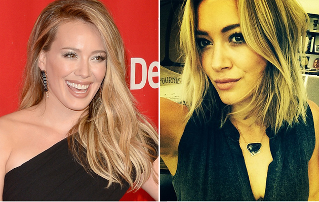 Hilary Duff Chops Off Her Hair -- See the Short New 'Do!