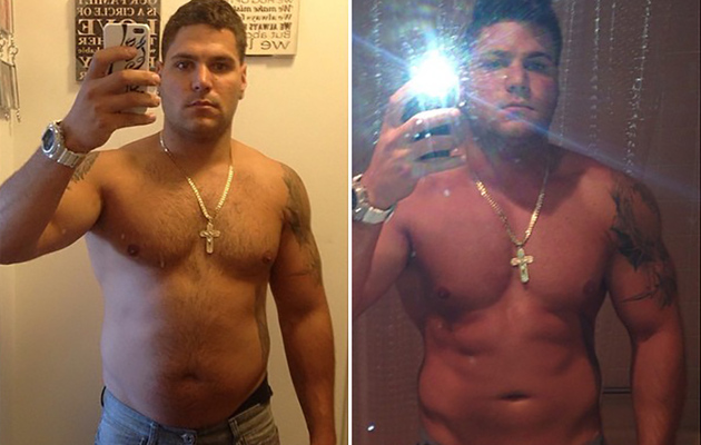 """Jersey Shore"" Star Ronnie Magro Shows Off Body Transformation!"