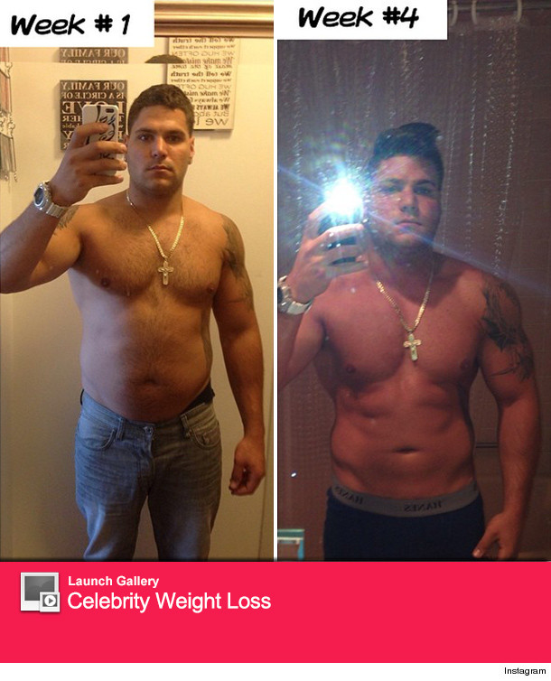 Jersey Shore Ronnie Magro Weight Loss