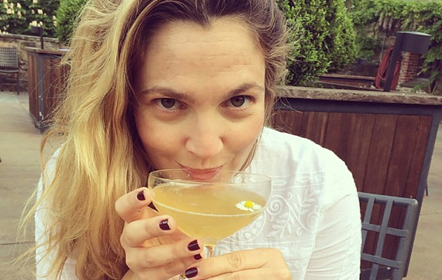 Drew Barrymore Shows Off Fresh Face in New Instagram Pic