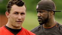 Johnny Manziel -- 'We All Got His Back' ... Says Browns WR