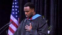 Ex-NFL Player Leigh Bodden's High School Commencement Speech -- STANDING OVATION