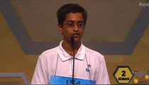 Scripps National Spelling Bee Judge Blurts Out 'Milkshake' Lyrics ... For No Good Reason