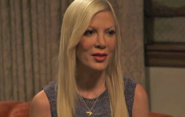 Tori Spelling Responds to Rumors Affair Was Faked, Dean Shows Off Giant New Tattoo