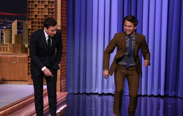 "Watch ""Fault in Our Stars'"" Ansel Elgort Tap Dance with Jimmy Fallon!"