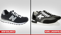 New Balance Suing Karl Lagerfeld For Being Sneaky