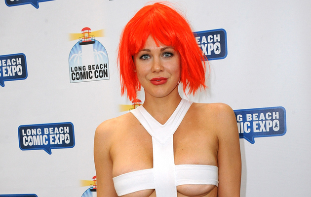 """Boy Meets World"" Star Maitland Ward Flaunts Under Boob in Super Sexy Costume"