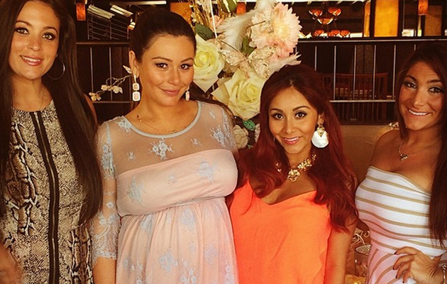 "Snooki Posts Cute Pics With ""Jersey Shore"" Costars From Jwoww's Baby Shower"