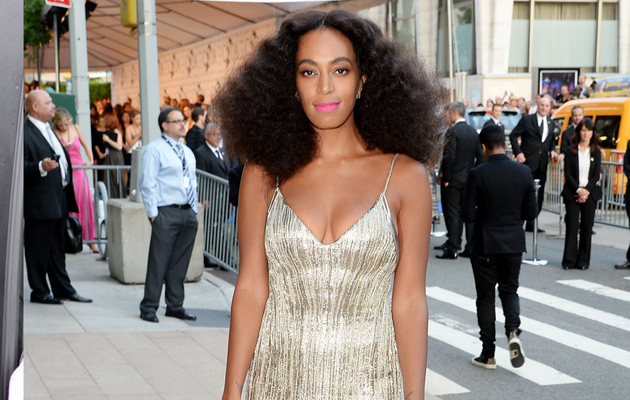Solange Knowles Makes First Red Carpet Appearance Since Met Gala Fight