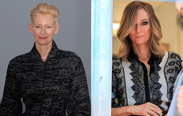 Tilda Swinton Looks Completely Different For New Movie -- See Her…