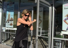 Charlize Theron BAILS on Pinkberry Tab ... Then Returns With $100