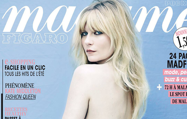 Kirsten Dunst Goes Topless for Madame Figaro -- See the Sexy Pic!