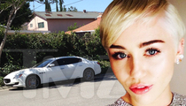 Miley Cyrus' Stolen Car -- Two Arrested in Stolen Maserati Case