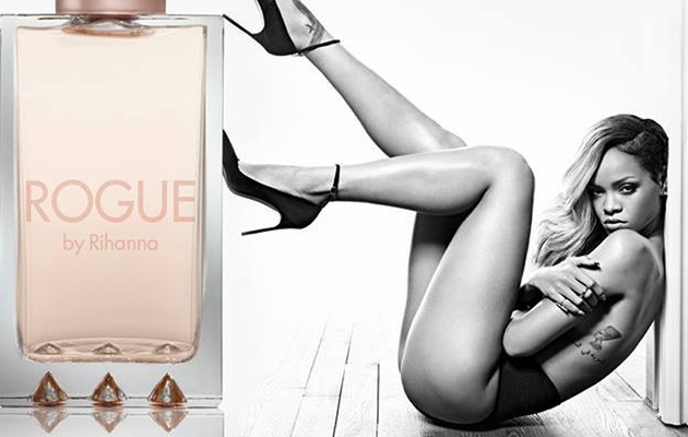 Rihanna's Perfume Ad Banned in England for Being Too Sexy -- See the Pic!