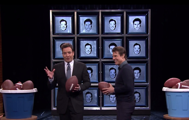 "Watch Tom Cruise and Jimmy Fallon Play ""Face Breakers"""