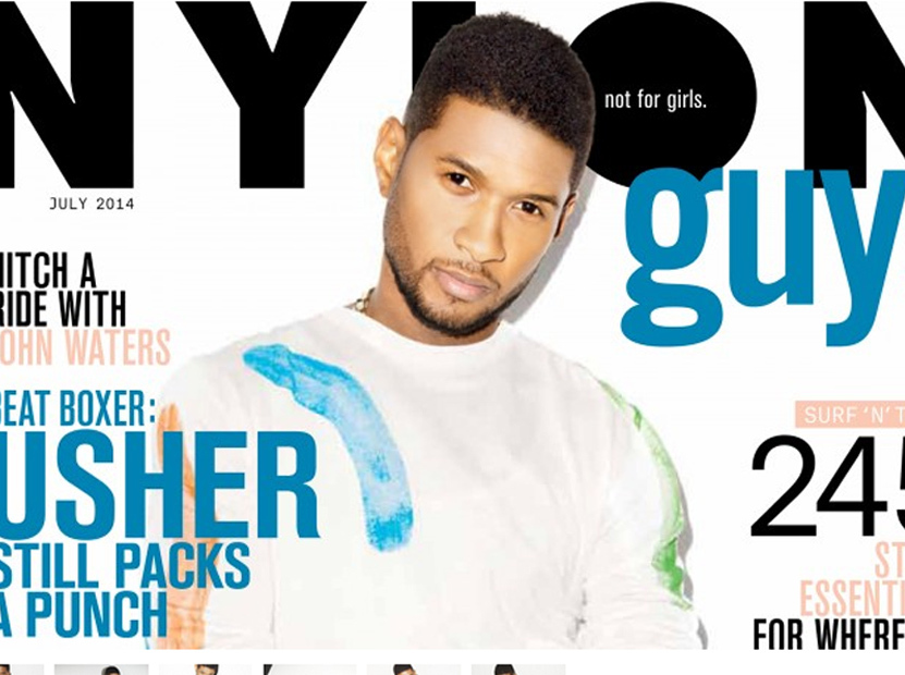 We hope hell continue to mature Usher opens up about