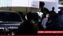 Kobe Bryant -- STEAK DINNER WITH Michael Jordan ... In Bev Hills