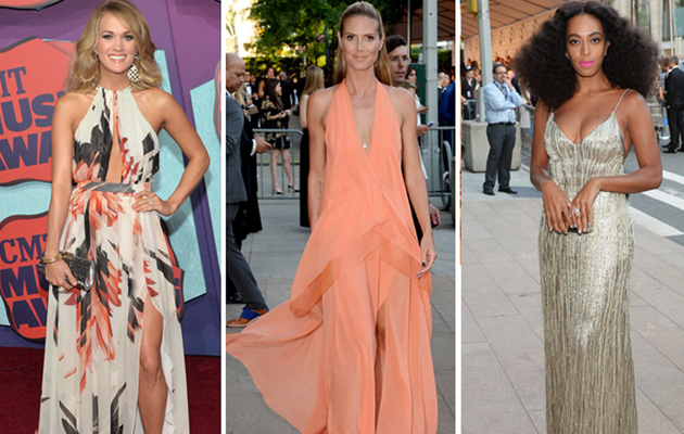 Carrie, Heidi & More -- See This Week's Best Dressed Stars!