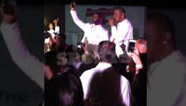 Pierre Garcon -- BELTS OUT 'JUST A FRIEND' ... With Biz Markie
