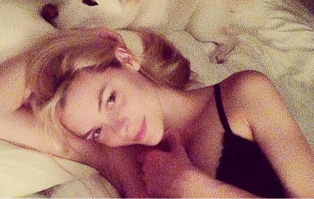 Jaime King Posts Breastfeeding Picture with Baby James