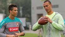NY Jets WR -- I Taught Cristiano Ronaldo How to Throw a Football