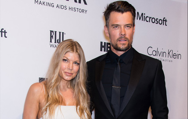 Fergie Stuns at amfAR Event with Hot Hubby Josh Duhamel