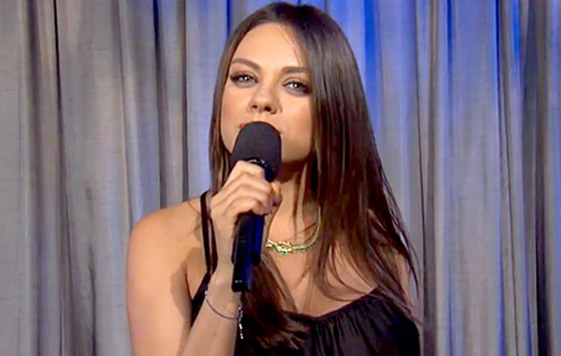 "Mila Kunis Warns Future Fathers to Stop Saying ""We Are Pregnant"""