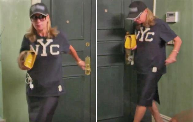 "Video: Check Out ""RHONYC"" Star Sonja Morgan's Commando Walk of Shame!"