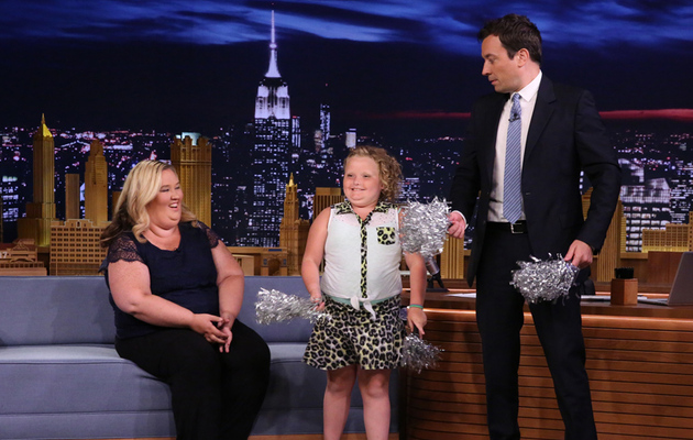 Honey Boo Boo Performs Cheerleading Routine with Jimmy Fallon!