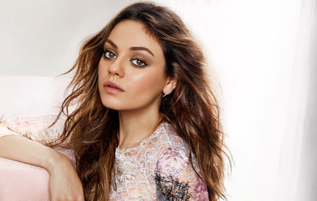 Mila Kunis Dishes About Fiance Ashton Kutcher, Babies & Boobs!