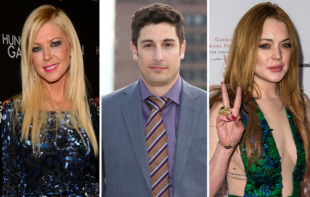 Jason Biggs Disses Tara Reid's Body, Compliments Lindsay Lohan's Boobs