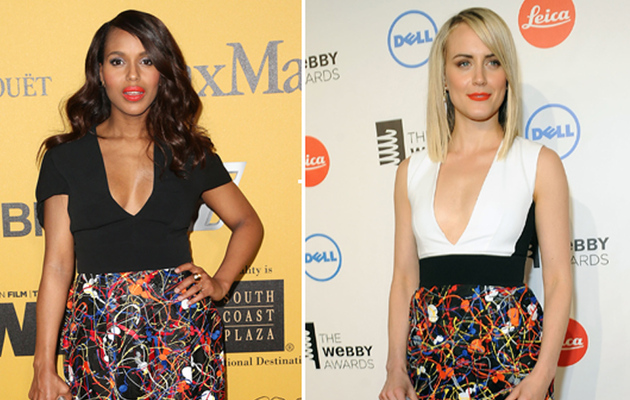 Dueling Dresses: Kerry Washington vs. Taylor Schilling