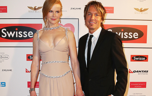 Nicole Kidman Flaunts Major Cleavage Alongside Keith Urban
