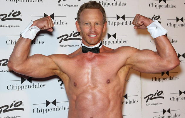 Ian Ziering, 50, Goes Shirtless for Chippendales -- Watch the Hilarious Video