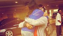 Bobby Brown & Bobbi Kristina -- Reunited on Father's Day