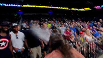 TNA Wrestler SPITS BEER on Dallas Cowboys ... (Scripted) Chaos Ensues