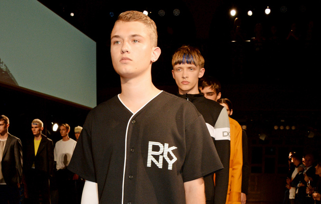 Jude Law's Son Walks the Runway for DKNY MEN -- See the Pic!