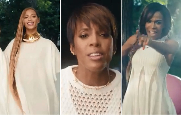 "Destiny's Child Reunite in Michelle Williams' ""Say Yes"" Music Video"