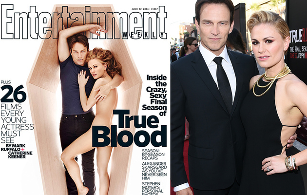 "Anna Paquin Gets Naked, Talks ""True Blood"" Sex Scenes"