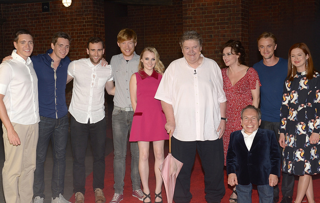 """Harry Potter"" Cast Reunites at Universal Orlando's Diagon Alley"
