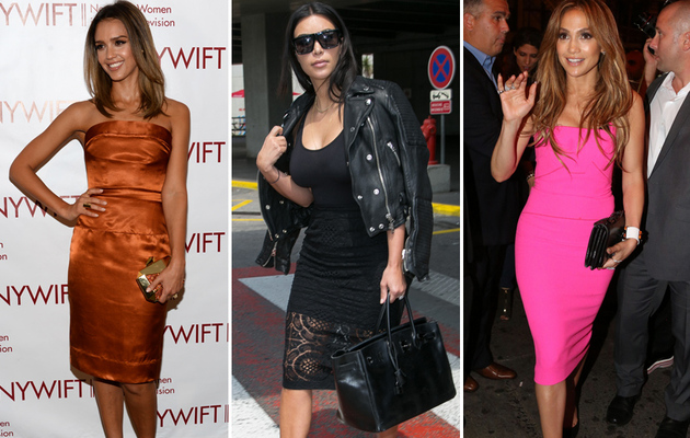 Jessica, Kim & More -- See This Week's Best Dressed Stars!
