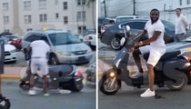 Adrien Broner -- HUMILIATING MOTOR-SCOOTER FAIL ... On Video!