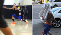 Justin Bieber -- Shirts or Skins ... Still A Baller! (VIDEO)