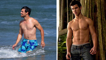 Taylor Lautner -- Way Less Abs, But Still Far From Flab