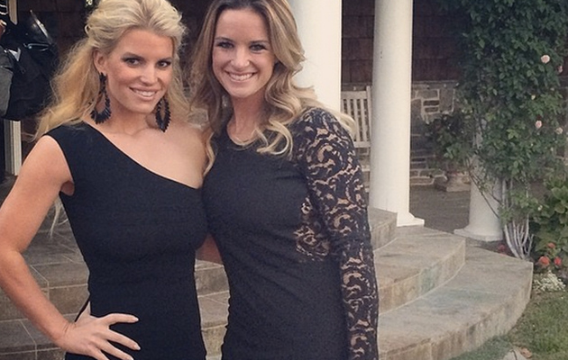 Jessica Simpson Looks Skinnier Than Ever in LBD!