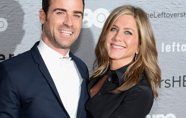 Finally! Jen Aniston & Justin Theroux Hit First Red Carpet Together In 2014